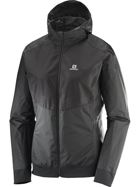 Salomon Lightning Aero Full Zip Hoodie Women Black